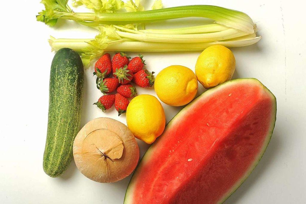 ochlazující potraviny
