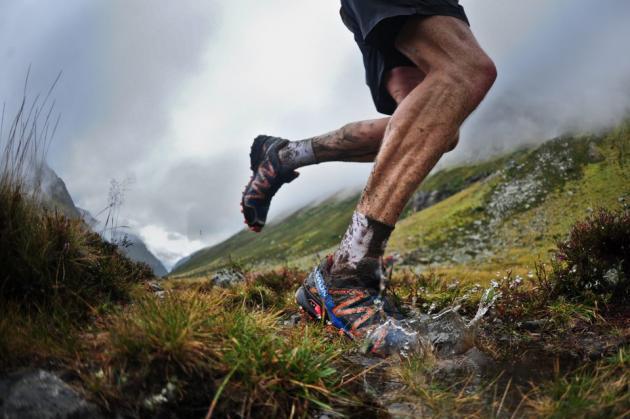 běh trail