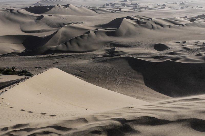 Duny byly ohromující. A Jamieho nezpomalily! © Jamie Ramsay