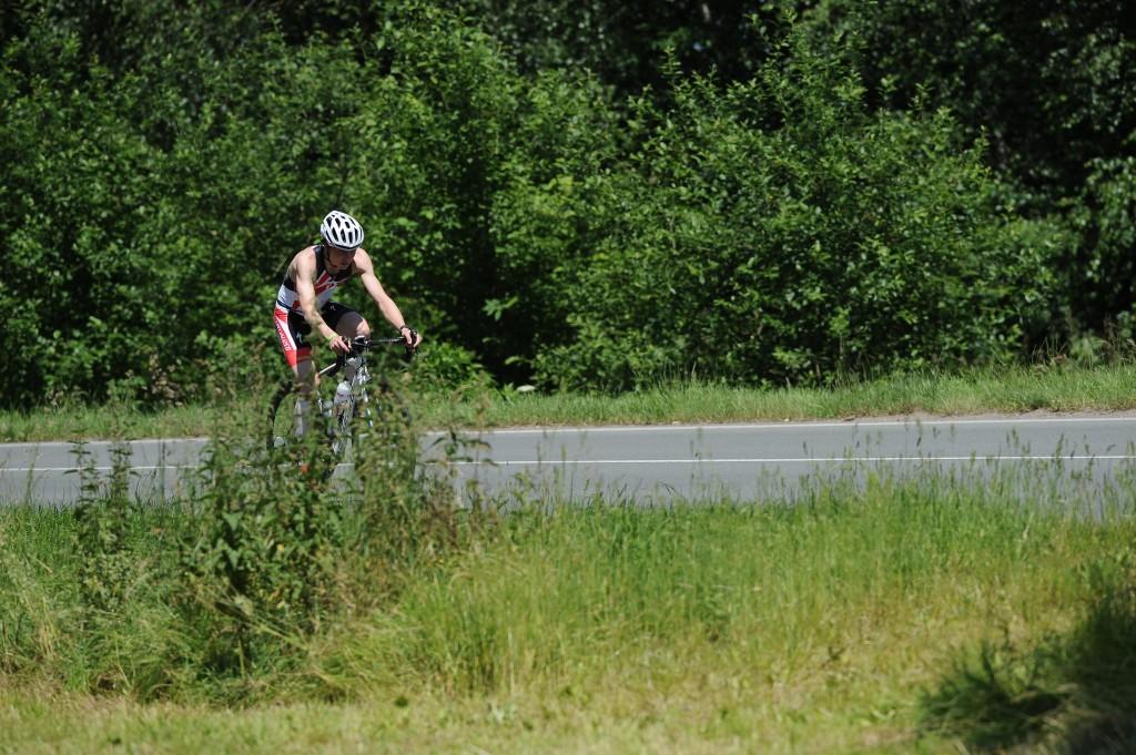 Petr Kövešlygety a cyklistická část