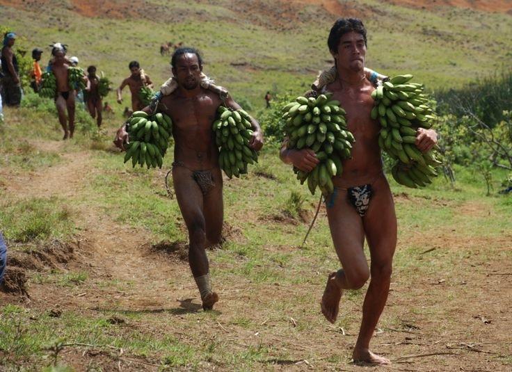 běh s banány