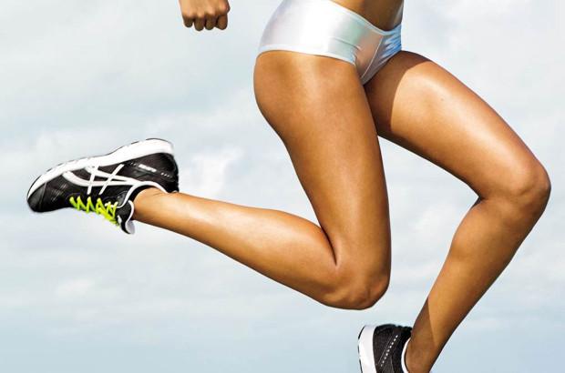 nohy běžce