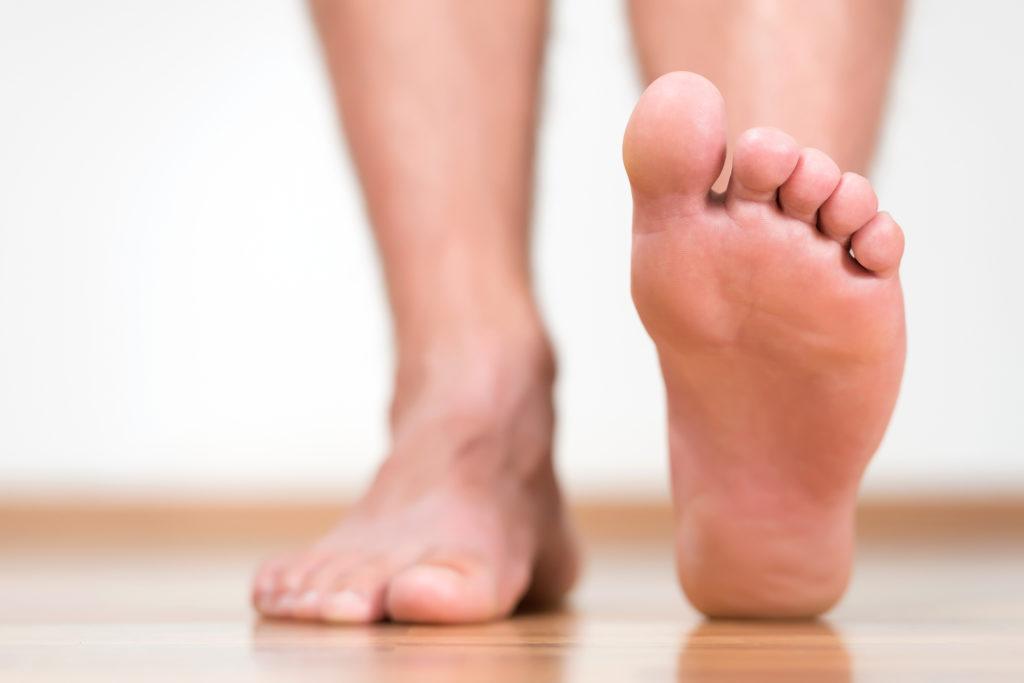 sůl - nohy